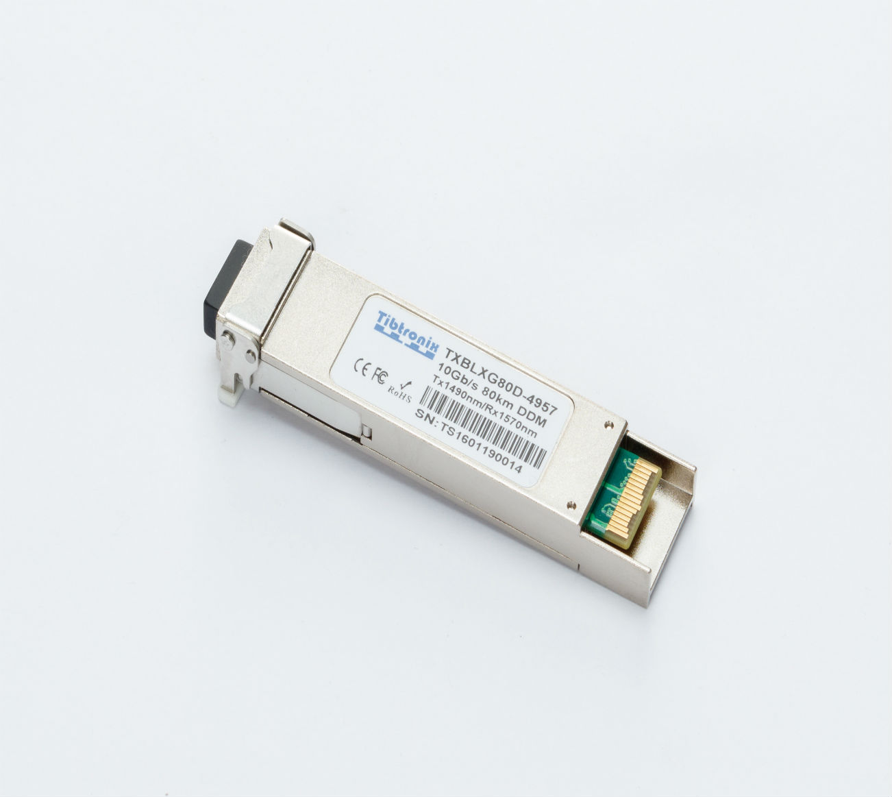 10GBASE  XFP BD  80km DDM Transceiver