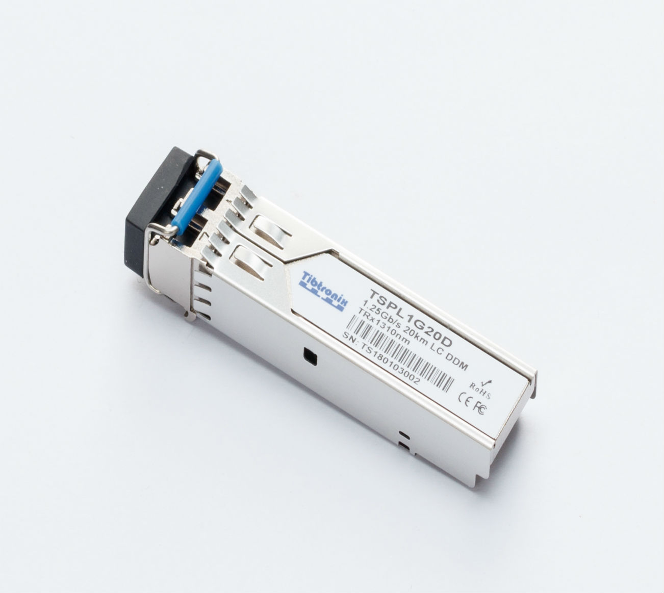 1000BASE-LX/LH SFP 1310nm 20km DDM Transceiver